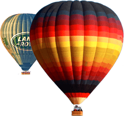 Exclusive hot air balloons