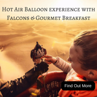 Hot Air Balloon Experience with Falcons