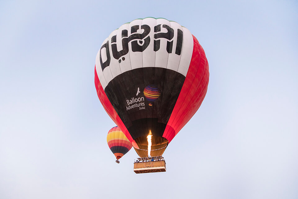 Dubai 2020 World Expo Hot Air Ballooning