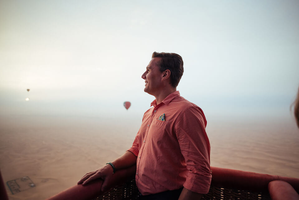 Unique Hot Air Ballooning Experience Dubai