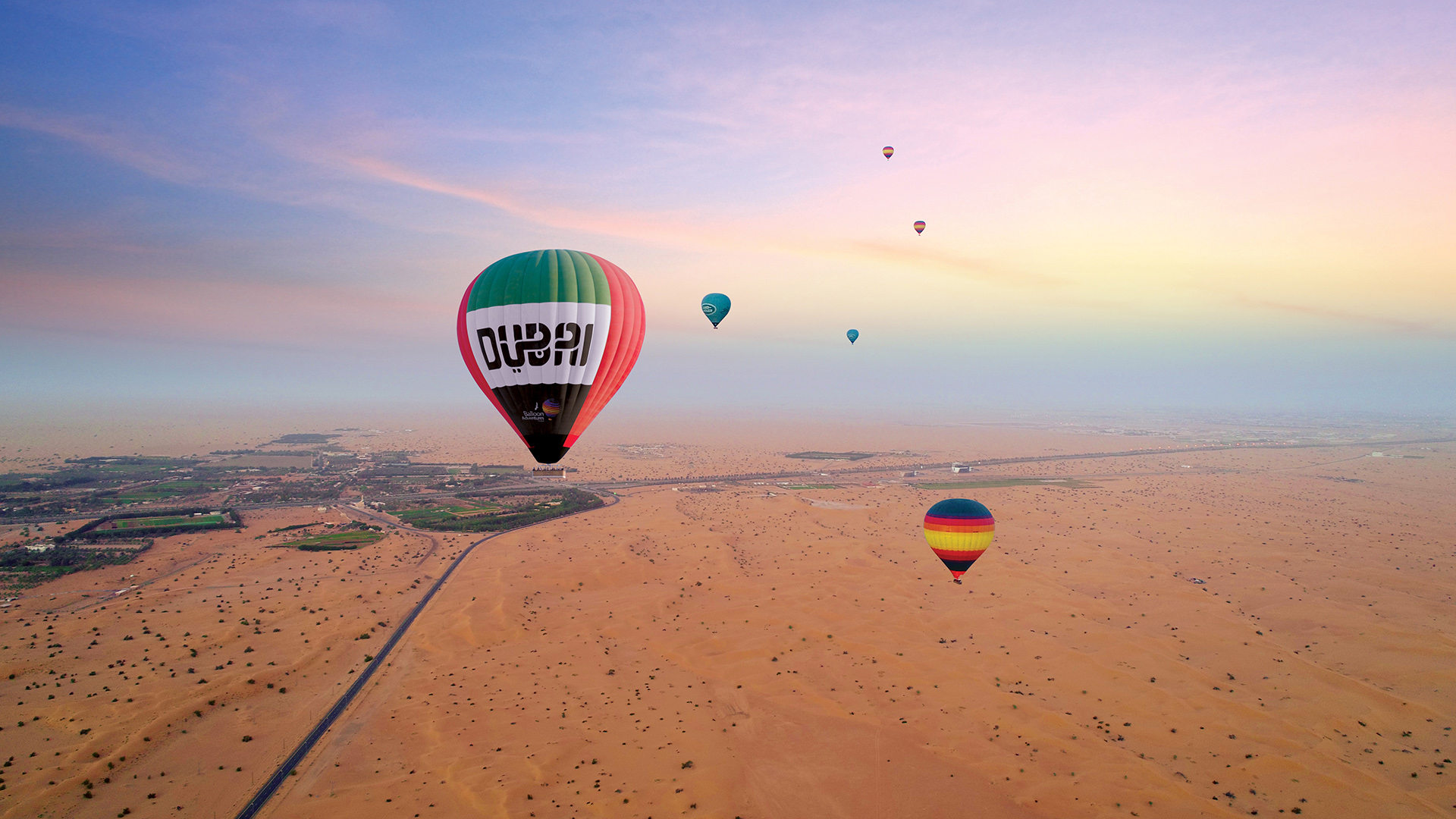 Dubai Bucket List Hot Air Balloon