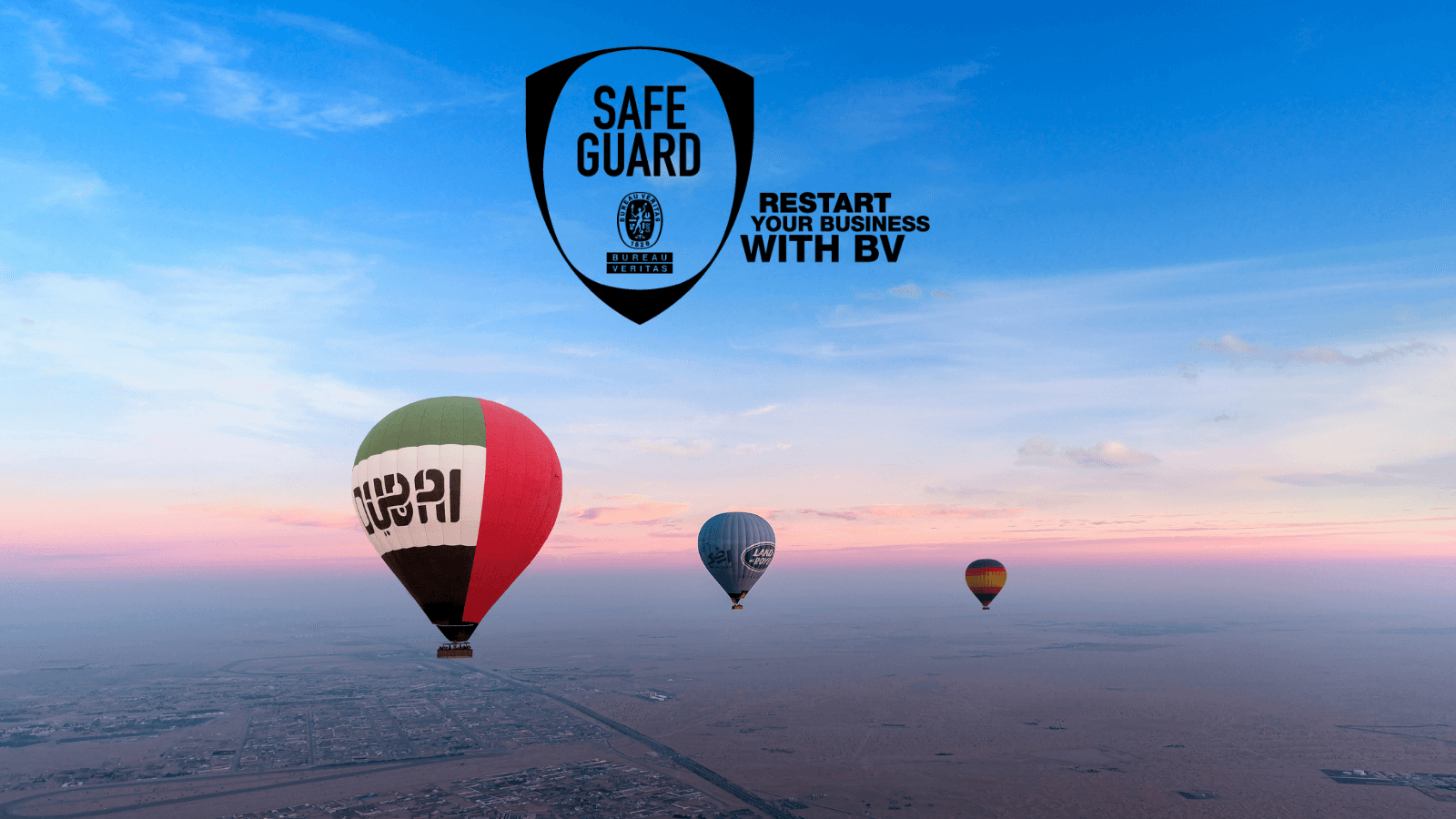 Bureau Veritas Safe Hot Air Balloon Company Dubai